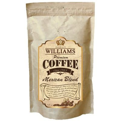 Кофе Williams Mexican Blend зерно в/у (200гр)