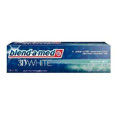 """Зуб.паста """"Blend-a-med"""" 3D white 100мл (1шт.)"""