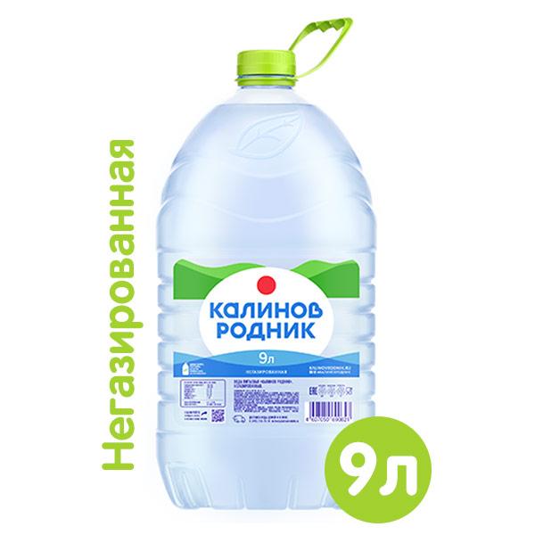 Вода Калинов родник 9 литров, 2 шт. в уп.