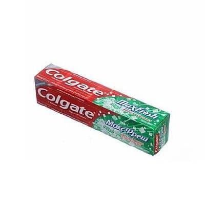 Зубная паста «Colgate» Макс Фреш с освежающими кристаллами, нежная мята (1шт.)