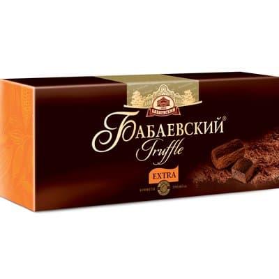 """Конфеты Трюфель Бабаевский """"Eхtra"""" 200гр"""