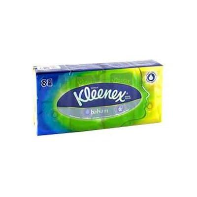 Носовые платочки Kleenex Balsam 10 шт (8шт.)
