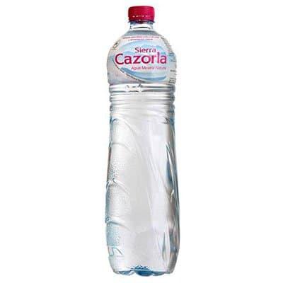 S.Cazorla / Сьерра Казорла 1 литр, без газа, пэт, 6шт. в уп.