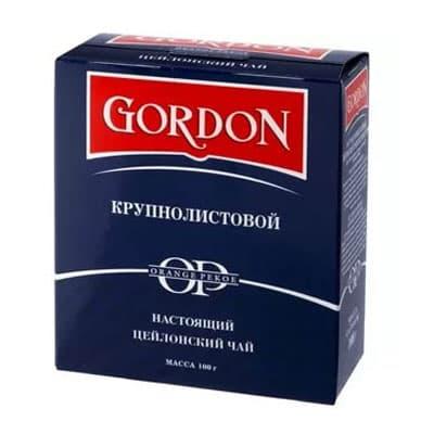 Чай Gordon крупнолистовой 100гр
