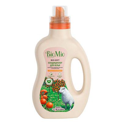 Кондиционер для белья Bio Mio для детских вещей с маслом мандарина 1 литр фото