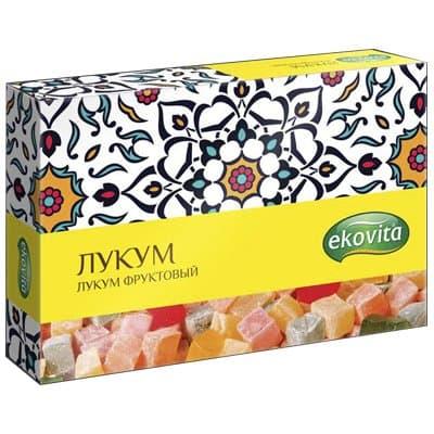 Лукум Ekovita фруктовый 125гр