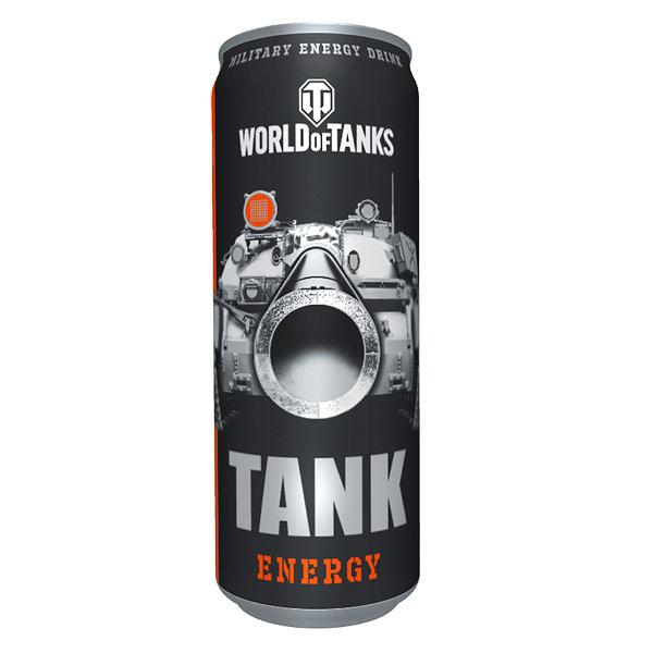 Энергетический напиток Tank World of Tanks 0.45