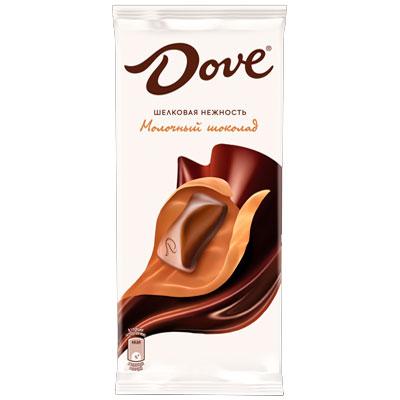 Шоколад Dove молочный 90 гр фото