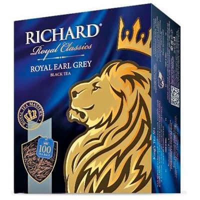 Чай Richard чёрный Royal Эрл Грей 100 пак фото