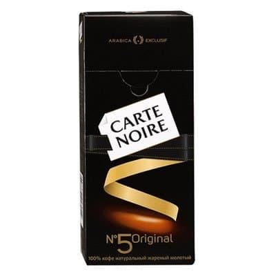 Carte Noire / ���� ���� �5 Original ������� �/�� (250��)