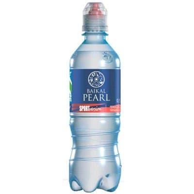 Вода Baikal Pearl /Жемчужина Байкала 0,5л б/г спорт пэт (12шт.)
