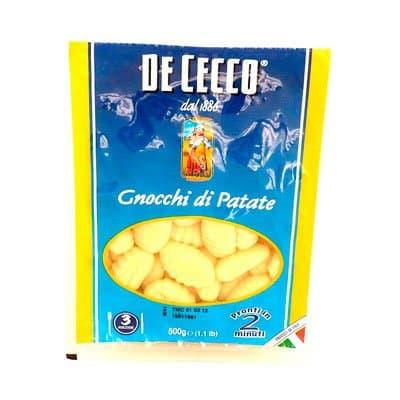 Картофельные клецки DE CECCO 500г