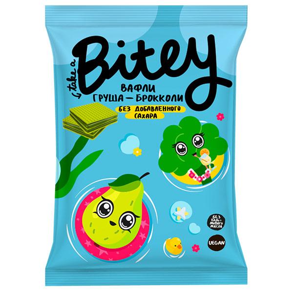 Вафли Bitey Груша-Брокколи 35 гр