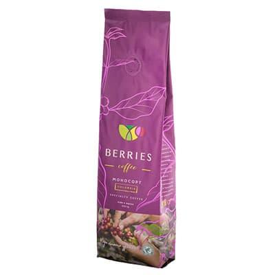 Купить со скидкой Кофе Berries Coffee Колумбия в зернах м/у 250 гр