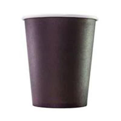 Стаканы картонные черные 0,165 литра 100