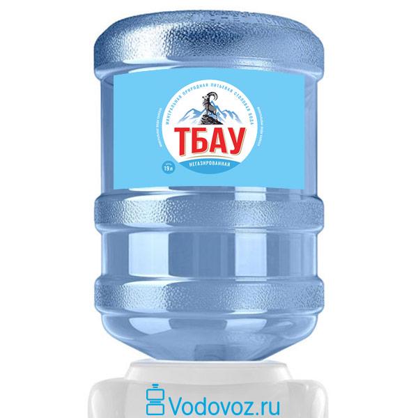 Вода Тбау 19 литров