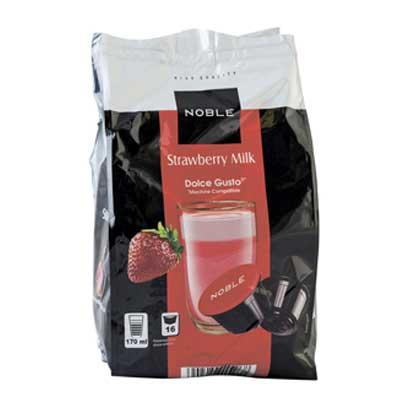 Молочный напиток в капсулах Noble Strawberry Milk 13 гр (16 шт.)
