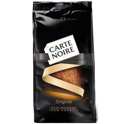 Carte Noire / Карт Нуар молотый м/у (230гр)