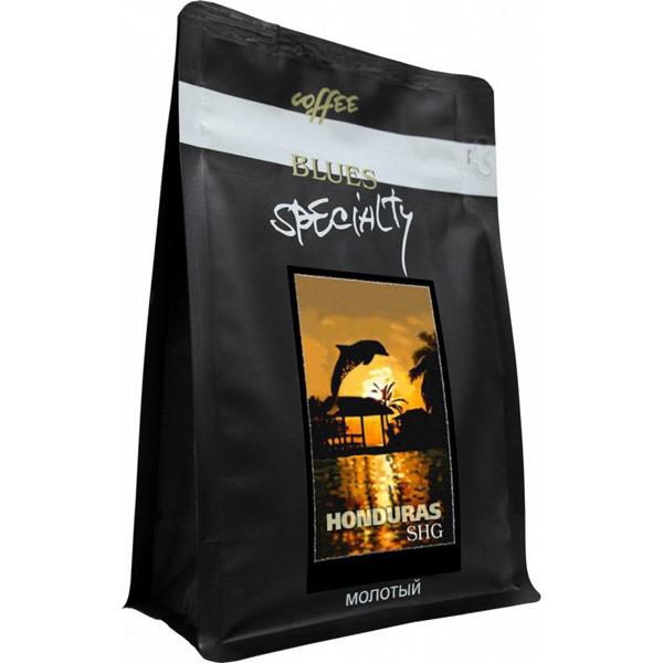 Кофе Blues Гондурас SHG молотый в/у 200 гр фото