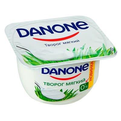 Творог Danone 0% мягкий 170 гр (4шт)