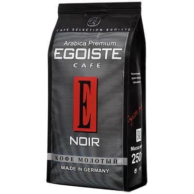 Кофе Egoiste Noir молотый в/у (250гр) фото