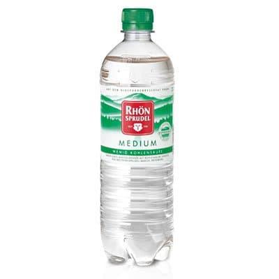 Rhon Sprudel Medium 0.75 литра, слабогазированная, пэт, 6шт. в уп.