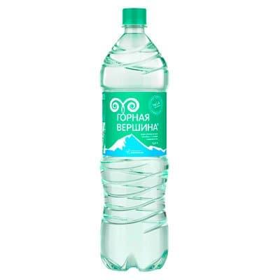 Лечебно-столова вода Горная Вершина 1,5л газ пэт (6шт.)