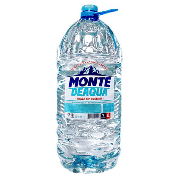 Вода Monte Deaqua 7 литров, 2 шт. в уп.