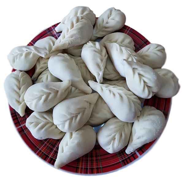 Вареники АМ с картофелем и грибами замороженные 500 гр