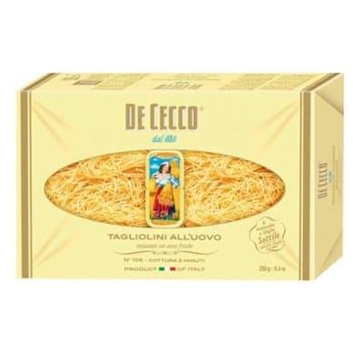 Тальолини DE CECCO 250г. (2шт.)