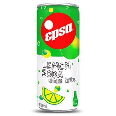 Epsa / Эпса напиток сода-лимон 0,33л газ ж/б. (4шт.)