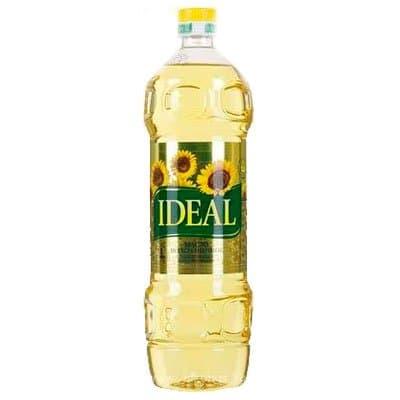 Масло ИДЕАЛ подсолнечное рафинированное дезодорированное 1л (3шт.)