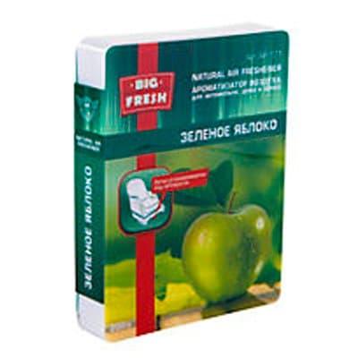 Ароматизатор для автомобилей под сидение Big Fresh Зеленое яблоко