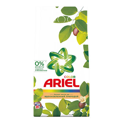 Стиральный порошок Ariel Color масла Ши автомат 3 кг фото