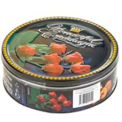"""Печенье """"Wonderful Copengagen"""" Красные розы ж/б 454гр (1шт)"""