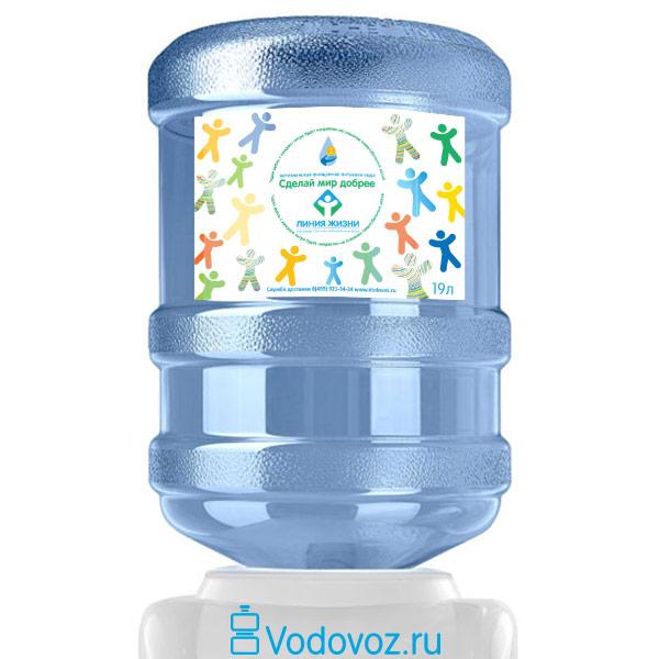 Вода Сделай Мир Добрее 19 литров фото