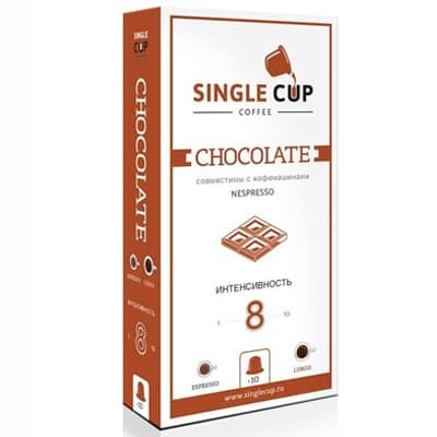 Кофе в капсулах Single Cup Coffee Chocolate 10шт (1шт)