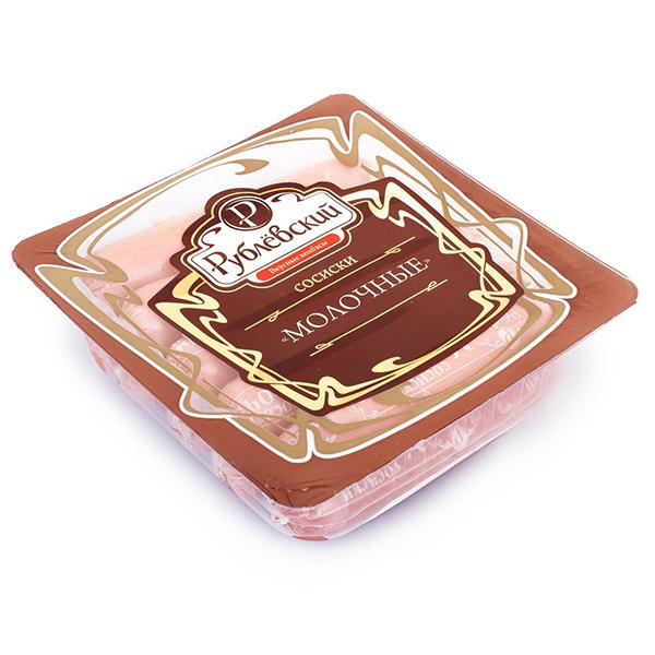 Сосиски Рублевский Молочные 430 гр