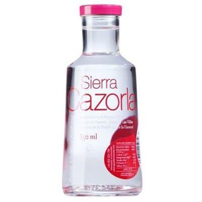 S.Cazorla / Сьерра Казорла 0.35 литра, без газа, стекло, 25шт. в уп.