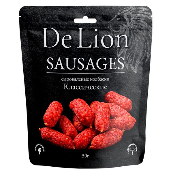 Колбаски DeLion классические 50 гр