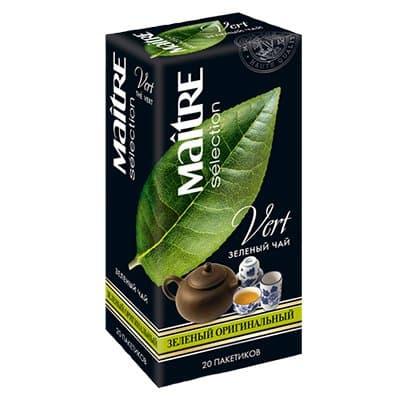 Чай Maitre Оригинальный зеленый (20пак)