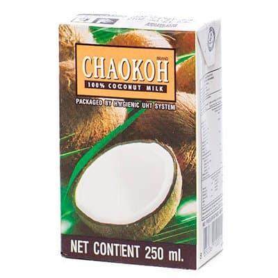 Молоко кокосовое Chaokoh Brand импорт 250мл. (36шт.)