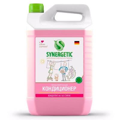 Кондиционер Synergetic для детского белья Нежное прикосновение биоразлагаемый 5 литров фото