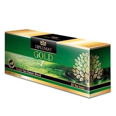 Diplomat Green Tea Classic Blend 25 пак