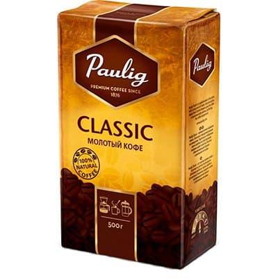 Кофе Paulig Классик молотый м/у (500гр)