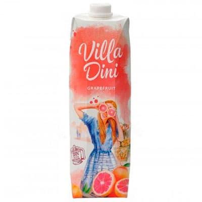 Сок Villa Dini грейпфрут 1 литр, 12 шт. в уп.