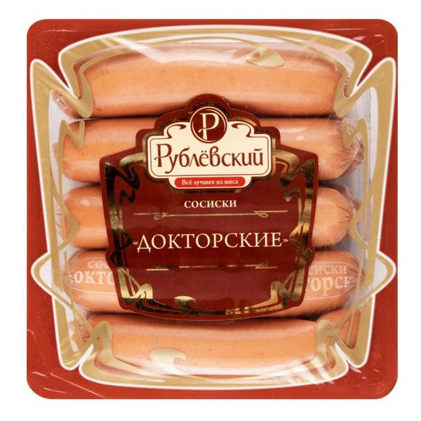 Сосиски Рублевский Докторские 430 гр