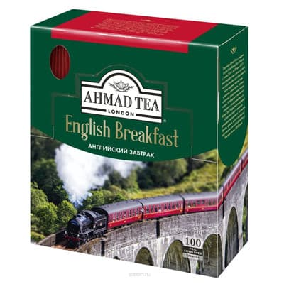 Ahmad / Ахмад Английский завтрак в фольгированных конвертах 100 пак фото