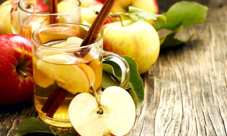 Яблочно-ванильный чай