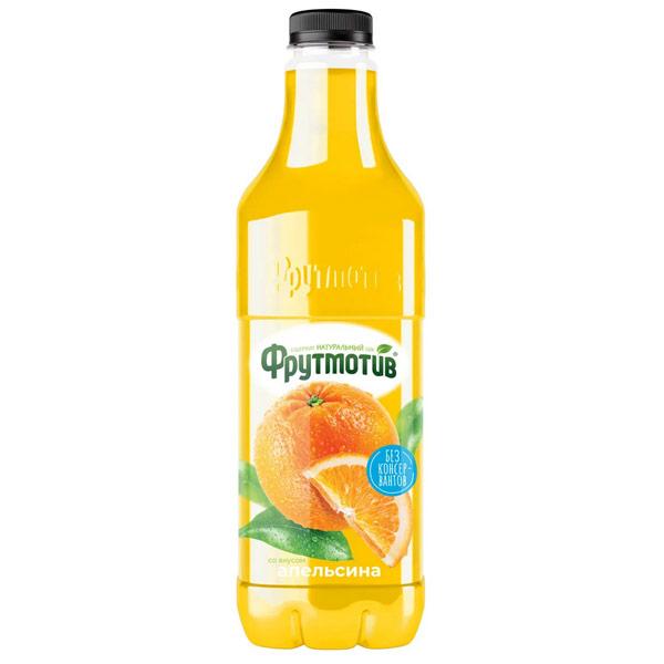 Напиток сокосодержащий Фрутмотив апельсиновый 1.5 литра, 6 шт. в уп.